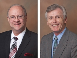 Crosby, Tunnell Receive Highest Honor for Teaching Excellence